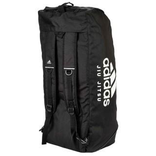 """Сумка-рюкзак Adidas 2in1 Bag """"Jiu-Jitsu"""" Nylon, adiACC052 Черная (L)"""