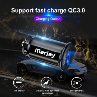 Автомобильное зарядное устройство USB Marjay
