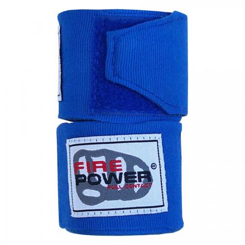 Бинты боксерские эластичные FirePower FPHW3 3м Синие