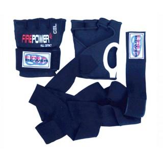 Бинт-перчатки FirePower FPHW5 (Гелевая) (L/XL) Черные