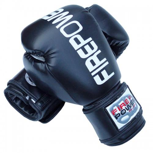 Боксерские перчатки FirePower FPBGА1 (10oz) Черные