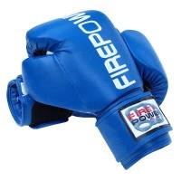 Боксерские перчатки FirePower FPBGА1 (14oz) Синие