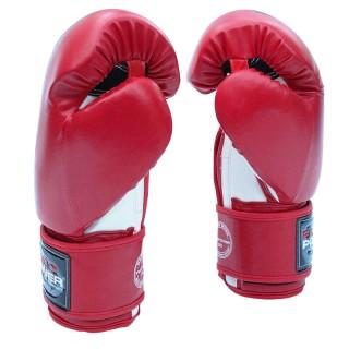 Боксерские перчатки FirePower FPBGА1 (10oz) Красные