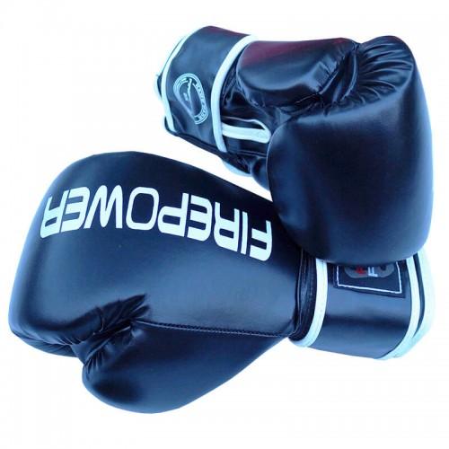 Боксерские перчатки FirePower FPBGА11 (10oz) Черные