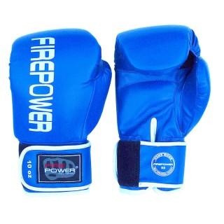 Боксерские перчатки FirePower FPBGА11 (10oz) Синие