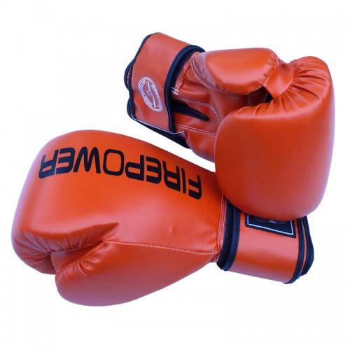 Боксерские перчатки FirePower FPBGА11 (10oz) Оранжевые