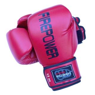 Боксерские перчатки FirePower FPBGА11 (10oz) Красные