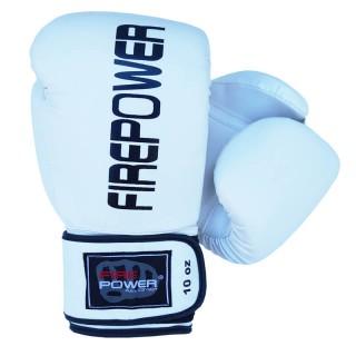 Боксерские перчатки FirePower FPBGА11 (10oz) Белые