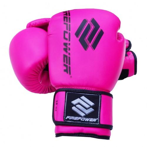 Боксерские перчатки FirePower FPBGА11N (16oz) Розовые