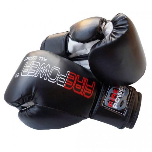 Боксерские перчатки FirePower FPBGА1 NEW (10oz) Черные