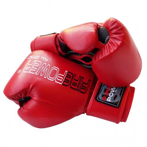 Боксерские перчатки FirePower FPBGА1 NEW (10oz) Красные