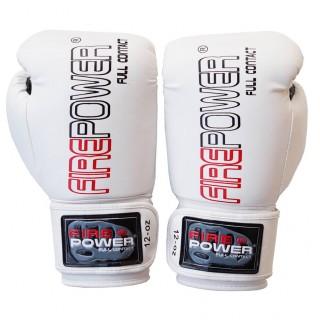 Боксерские перчатки FirePower FPBGА1 NEW (10oz) Белые