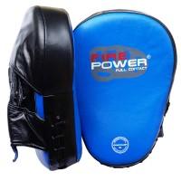 Лапы боксерские FirePower CG3 Синие с черным
