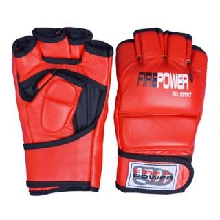 Перчатки MMA FirePower FPMG1 (L) Красные