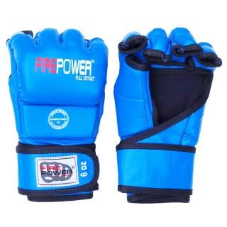 Перчатки MMA FirePower FPMG3 (L/XL) Синие