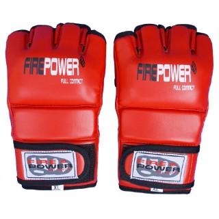 Перчатки MMA FirePower FPMGA1 (L) Красные