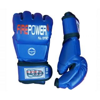 Перчатки MMA FirePower FPMGA2 (L/XL) Синие