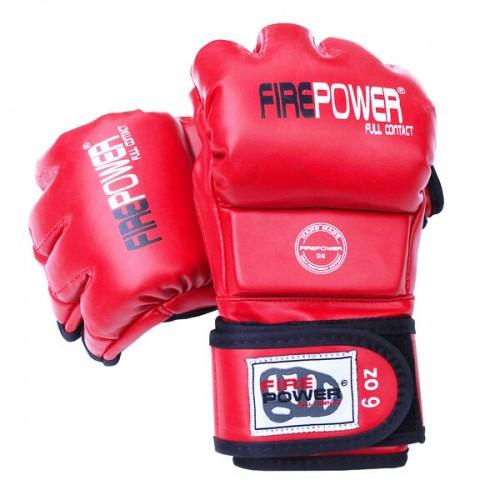 Перчатки MMA FirePower FPMGA3 (L/XL) Красные