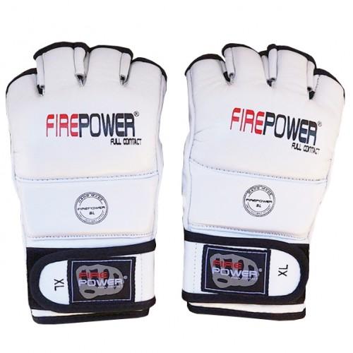 Перчатки MMA FirePower FPMG1 (L) Белые