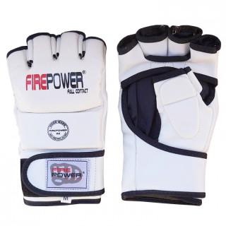 Перчатки MMA FirePower FPMGA1 (L) Белые