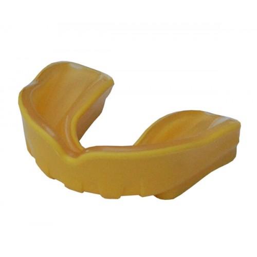 Капа FirePower Polaris Junior Gel Желтая с прозрачным (Для подростков)