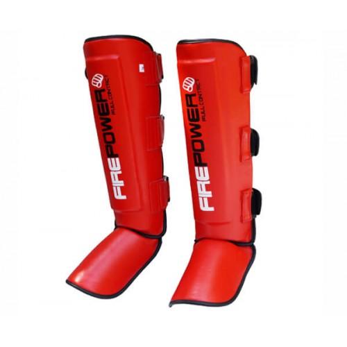 Защита голени (Щитки) FirePower FPSG5 (XL) Красная