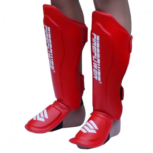 Защита голени и стопы (Щитки) FirePower FPSGA10 (L) Красные