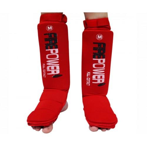 Защита голени подростковая (Чулки) FirePower FPSGE7 (L) Красная