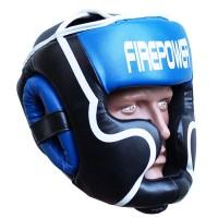 Боксерский шлем FirePower FPHGA5 (L) Синий