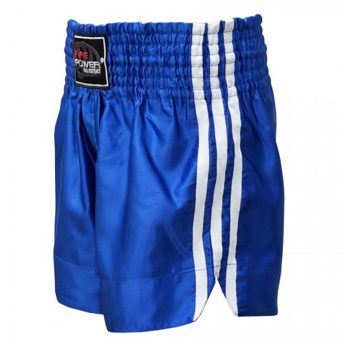 Шорты для тайского бокса FirePower ST-14 (L) Синие