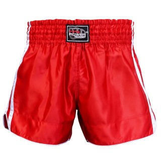 Шорты для тайского бокса FirePower ST-15 (L) Красные