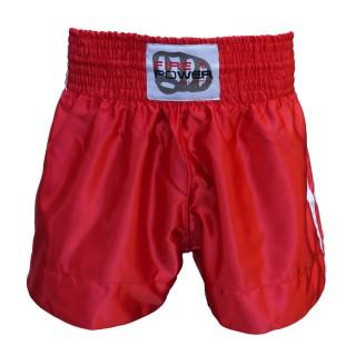 Шорты для тайского бокса FirePower ST-14 (L) Красные
