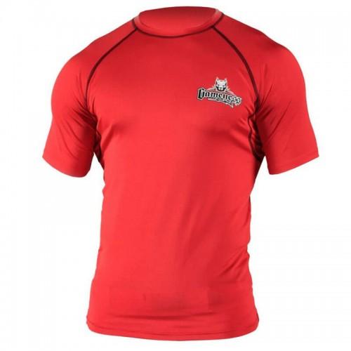 Рашгард с коротким рукавом Gameness Top Dog (L) Красный