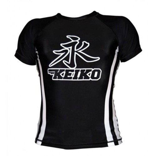 Рашгард с коротким рукавом KEIKO RACA Speed (L) Черный