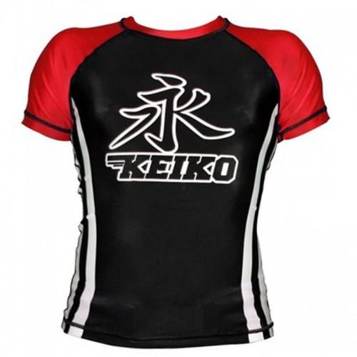 Рашгард с коротким рукавом KEIKO RACA Speed (L) Черный с красным