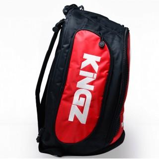 Рюкзак Kingz Convertible Training Bag 2.0 Черный с красным