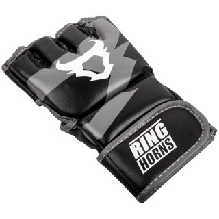 Перчатки MMA Ringhorns Charger (L/XL) Черные с белым