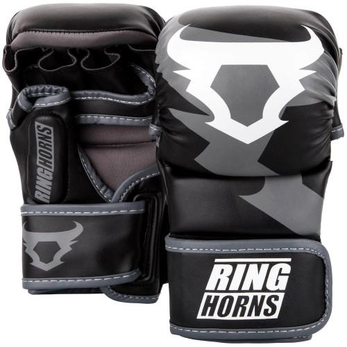Перчатки MMA Sparring Ringhorns Charger (L/XL) Черные с белым