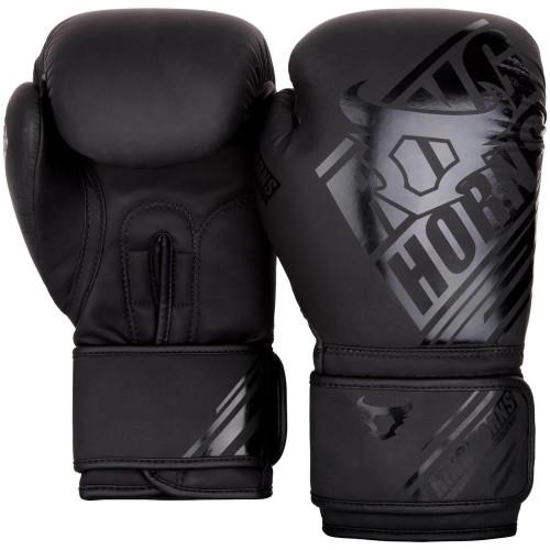 Боксерские перчатки Ringhorns Nitro Черные (10 oz)
