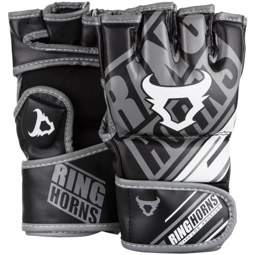 Перчатки MMA Ringhorns Nitro (L/XL) Черные с белым