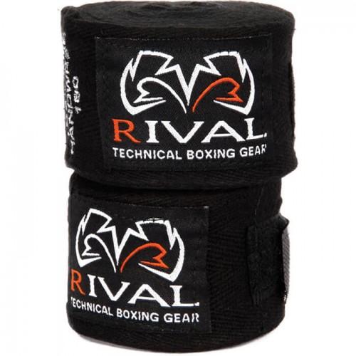 Бинты боксерские эластичные RIVAL Mexican 4,5м Черный