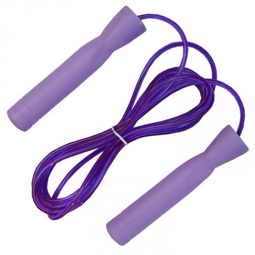 Скакалка скоростная с подшипником Zelart FI-4865 Фиолетовая
