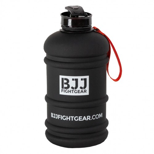 Бутылка для воды BJJ Fightgear 2,2 литра Черная