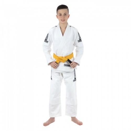 Кимоно детское для Бразильского Джиу-Джитсу Tatami Fightwear Kids Dweller (M1) Белое