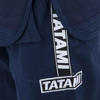 Кимоно детское для Бразильского Джиу-Джитсу Tatami Fightwear Kids Dweller (M4) Темно-синее