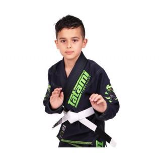 Кимоно детское для Бразильского Джиу-Джитсу Tatami Fightwear Kids NEW Animal (M0) Темно-синее