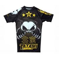 Рашгард с коротким рукавом Tatami Fightwear Chinese Panda (S) Принт