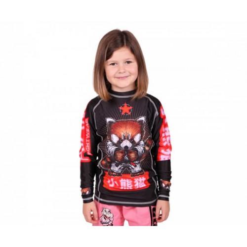 Рашгард детский Tatami Fightwear Red Panda (YM) Принт