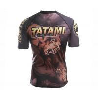 Рашгард с коротким рукавом Tatami Fightwear Wrestlers (M) Принт