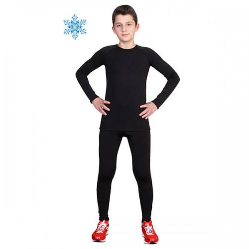 Термобелье детское FirePower Polarflis-Stretch (28)  Черное